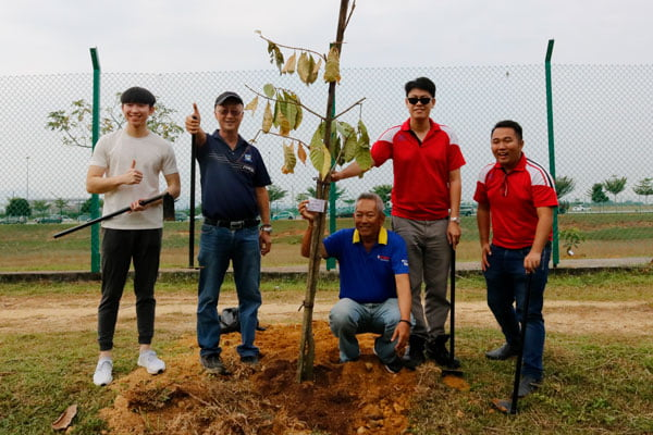 Pledge And Plant A Tree Programme 2019-03