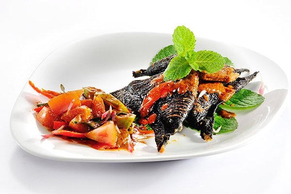 Curry Black Pomfret Fish