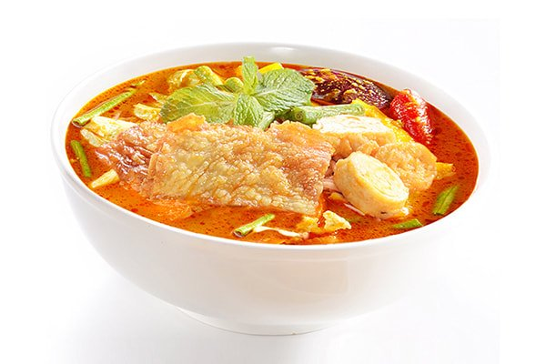 Seafood Yuba Curry Noodle