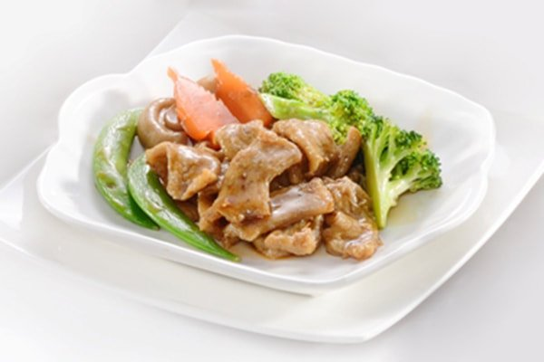 Stir Fried Little Meat
