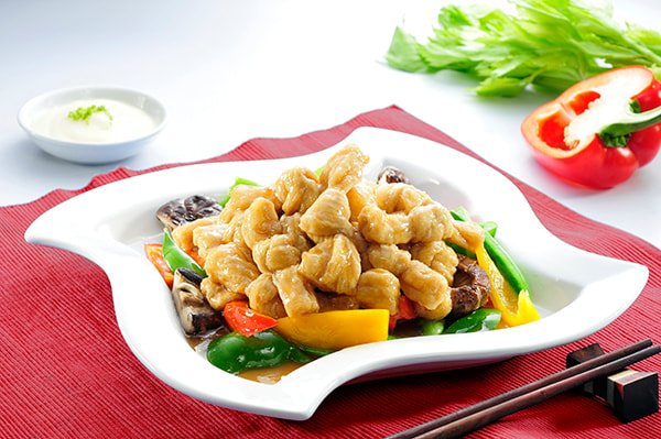 Stir Fried Soy Knot