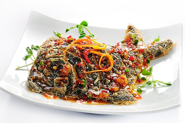 Thai Chilli Soy Pomfret Fish