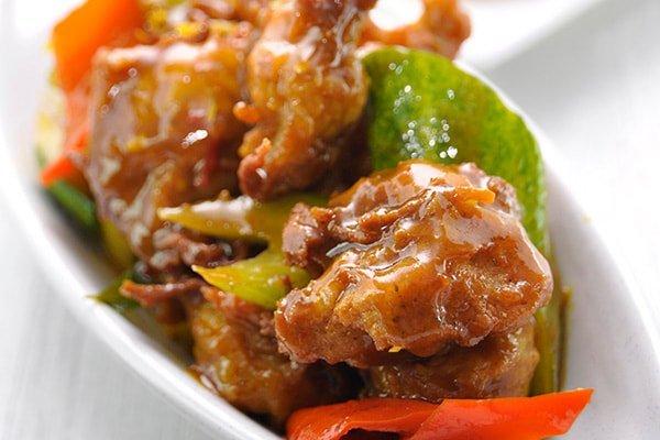 Vegetarian Ku Loh Meat in Vietnamese Style