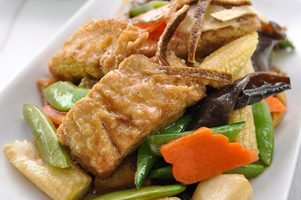 Veg. Spiced Duck Simmered with Dried Tangerine Peel