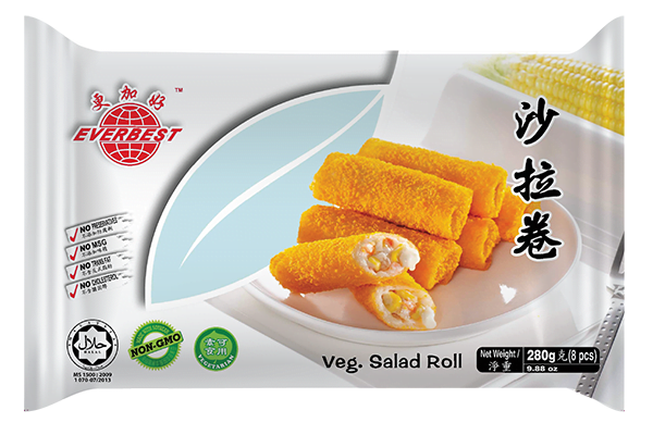Veg. Salad Roll 280g