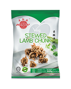 Veg. Stewed Lamb Chunk 500g
