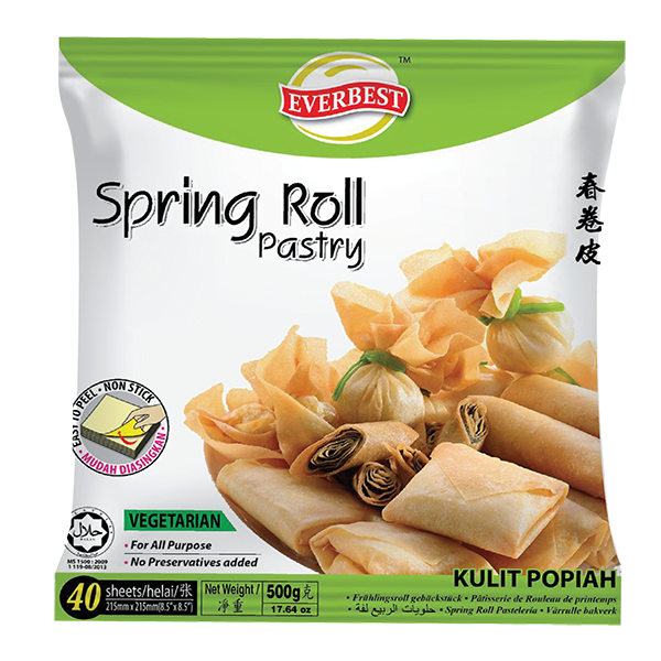 Spring Roll Pastry 8.5'' 500g