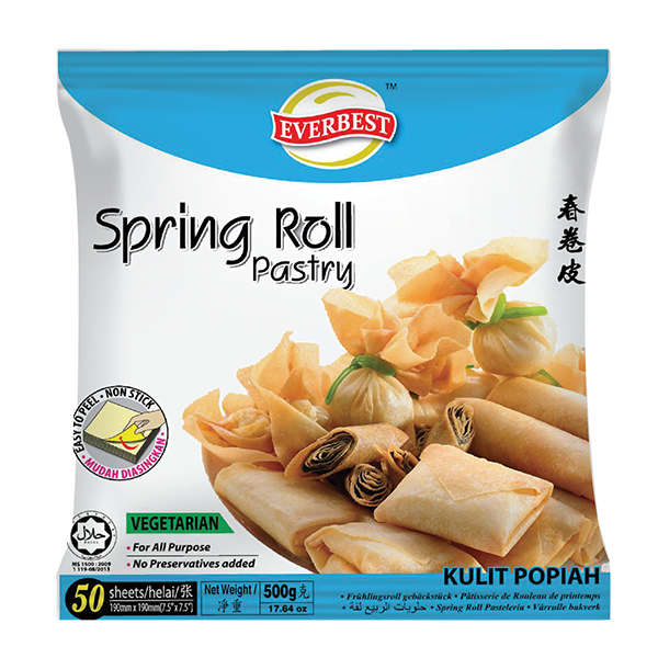 Spring Roll Pastry 7.5'' 500g