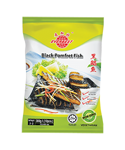 Veg. Black Pomfret Fish 380g
