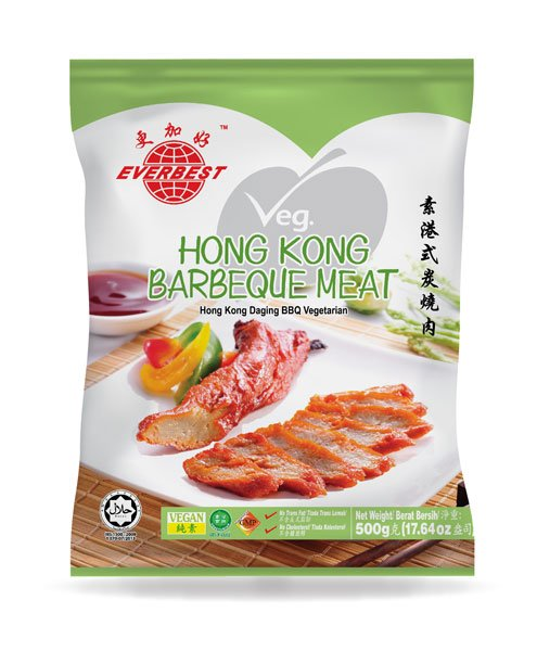 Veg. Hong Kong Barbeque Meat 500g