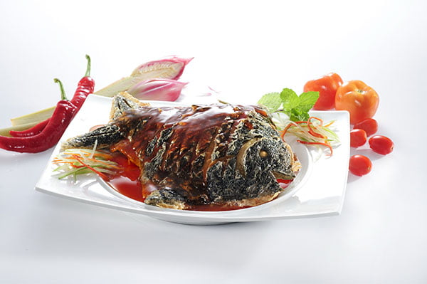 Soy Pomfret Fish