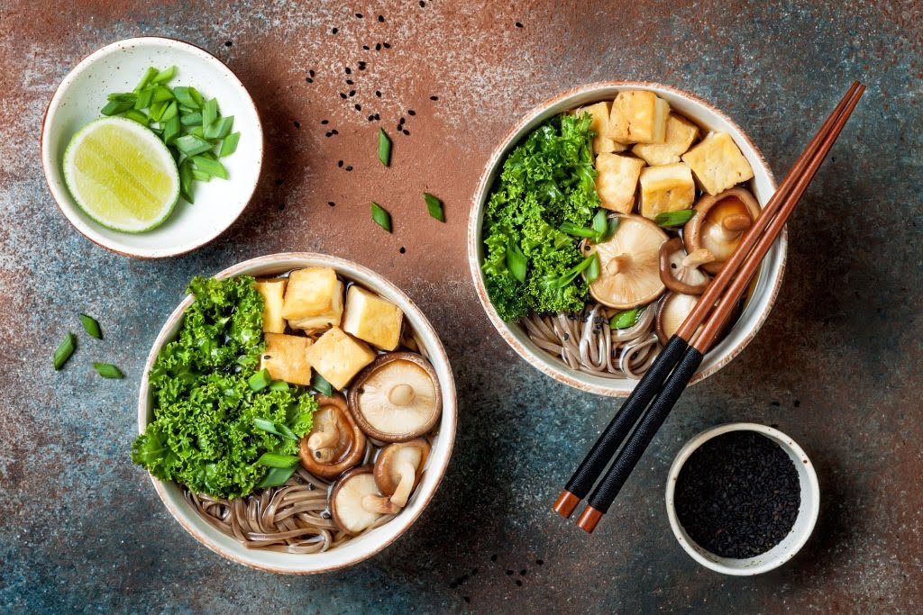 Japanese cuisine miso noodles